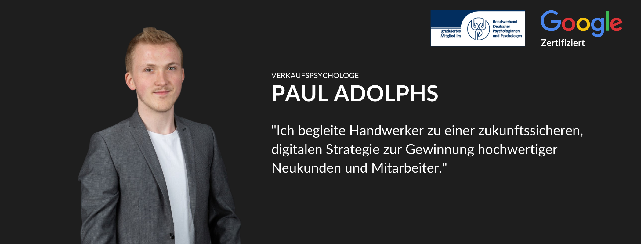 Paul Adolphs Marketing Handwerk